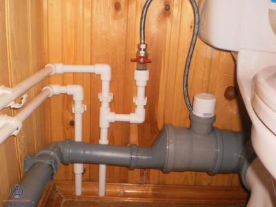 Внутренняя системы канализации загородного дома