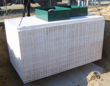 Процесс монтажа установки Юнилос Астра 50 на участке