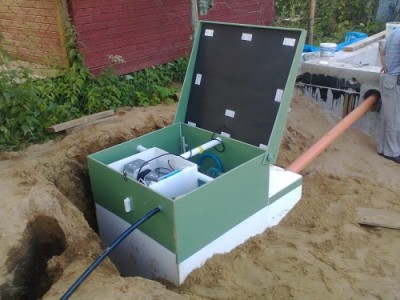 Подключение септика к системе канализации